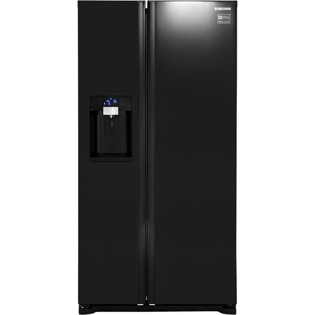 Samsung RSG5MUBP1 G-series 615 Litre Gloss Black American Fridge Freezer With Ice And Water Dispenser
