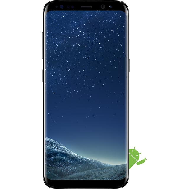 Samsung Mobile Galaxy S8 Series SM-G950FZKABTU Mobile Phone in Black