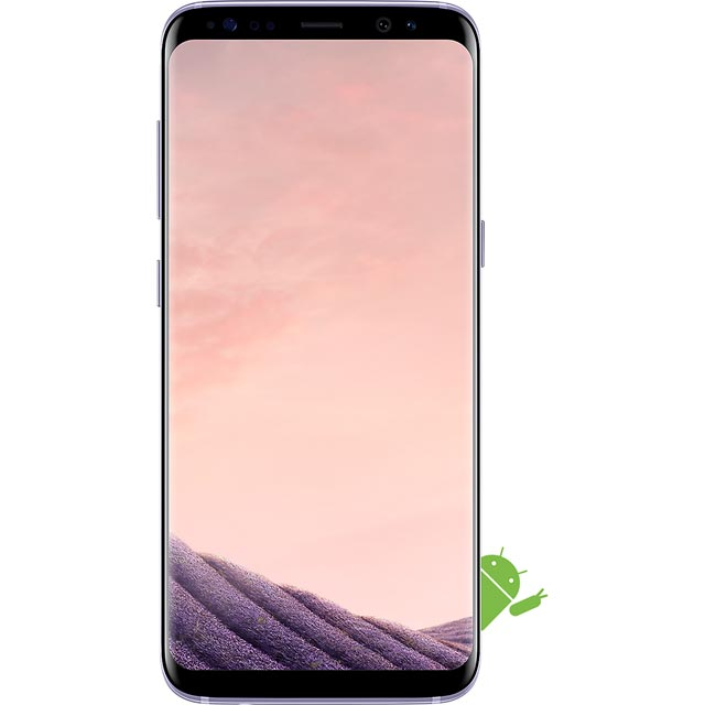 Samsung Mobile Galaxy S8 Series SM-G950FZVABTU Mobile Phone in Orchid Grey