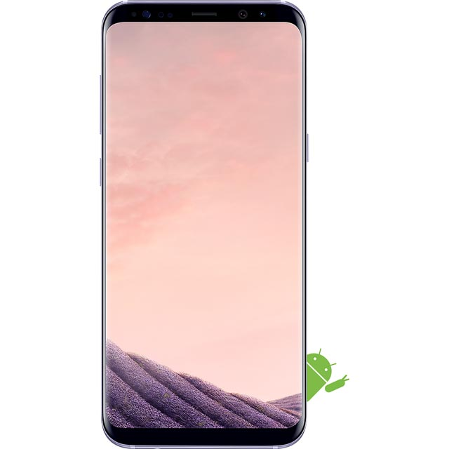 Samsung Mobile Galaxy S8 Series SM-G955FZVABTU Mobile Phone in Orchid Grey