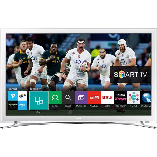 22 samsung ue22h5610 smart led tv white white. Black Bedroom Furniture Sets. Home Design Ideas