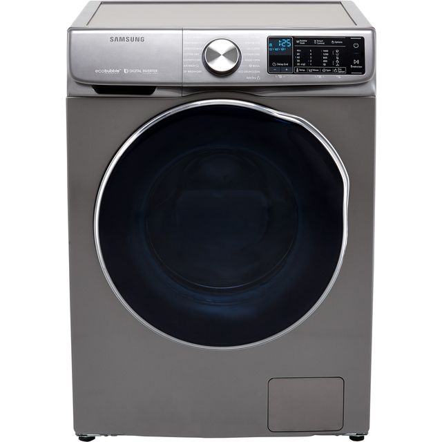 Samsung ecobubble™ WD10N645RAX Wifi Connected 10Kg / 6Kg Washer Dryer with 1400 rpm - Graphite - B Rated