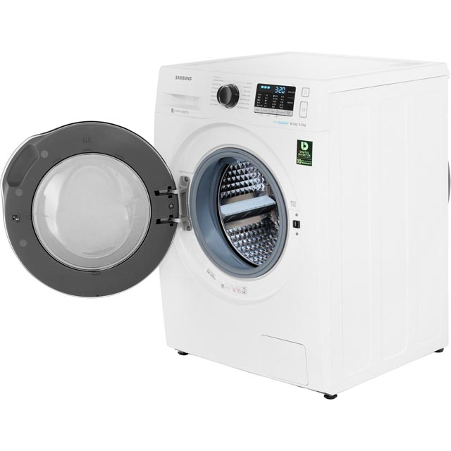 Samsung ecobubble™ WD80J5A10AW Washer Dryer - White - WD80J5A10AW_WH - 3
