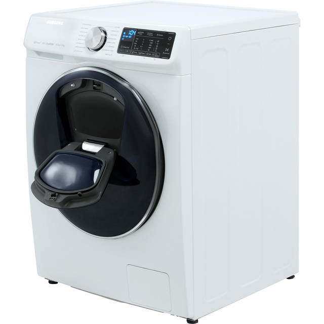 Samsung QuickDrive™ WD80N645OOW 8Kg / 5Kg Washer Dryer - White - WD80N645OOW_WH - 5