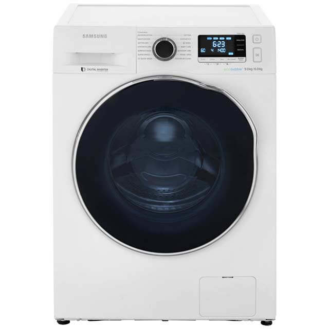Samsung Ecobubble WD90J6410AW 9Kg / 6Kg Washer Dryer with 1400 rpm - White