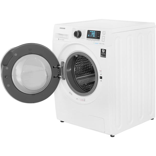 Samsung ecobubble™ WD90J6A10AW 9Kg / 6Kg Washer Dryer - White - WD90J6A10AW_WH - 3