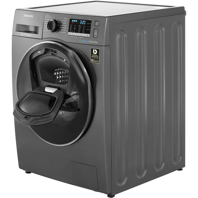 Samsung AddWash™ ecobubble™ WD90K5B10OX 9Kg / 6Kg Washer Dryer - Graphite - WD90K5B10OX_GH - 3