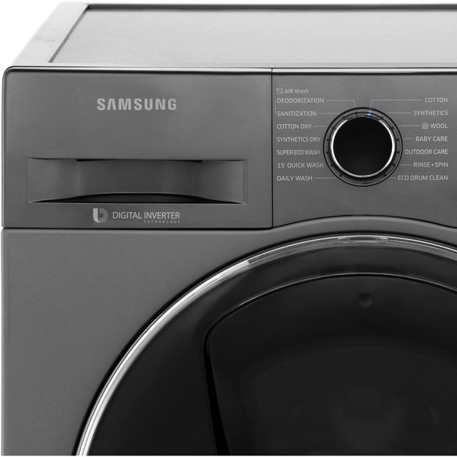 Samsung AddWash™ ecobubble™ WD90K5B10OX 9Kg / 6Kg Washer Dryer - Graphite - WD90K5B10OX_GH - 5