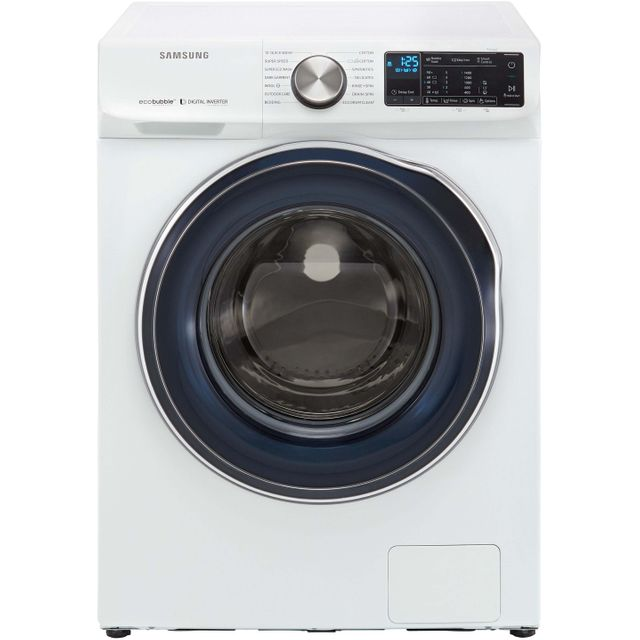 Samsung ecobubble™ WW10N645RBW Wifi Connected 10Kg Washing Machine with 1400 rpm - White - A+++ Rated - WW10N645RBW_WH - 1