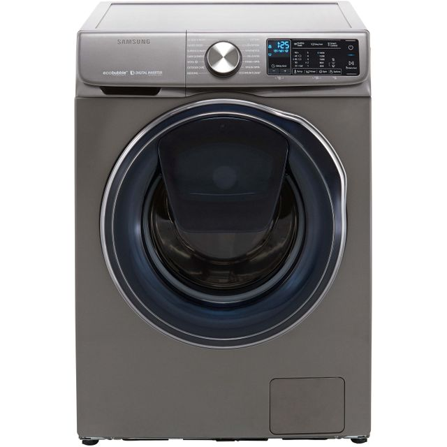 Samsung AddWash™ ecobubble™ WW10N645RPX Wifi Connected 10Kg Washing Machine with 1400 rpm - Graphite - A+++ Rated - WW10N645RPX_GH - 1