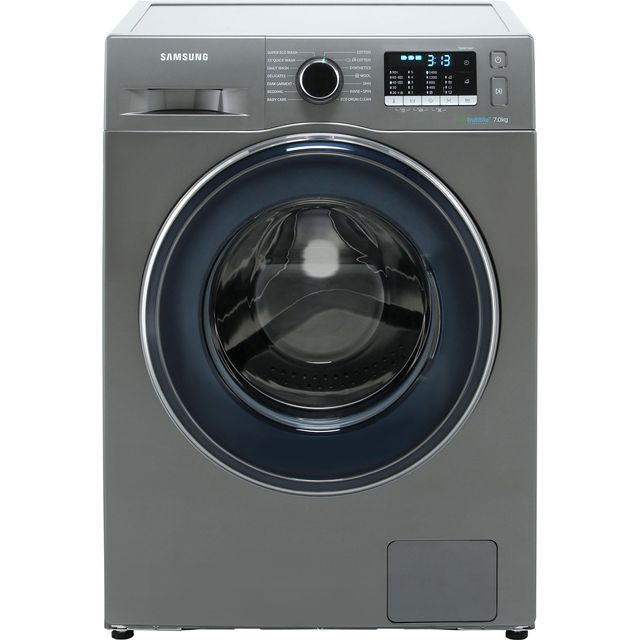Samsung ecobubble™ WW70J5555FX 7Kg Washing Machine with 1400 rpm - Graphite - A+++ Rated - WW70J5555FX_GH - 1