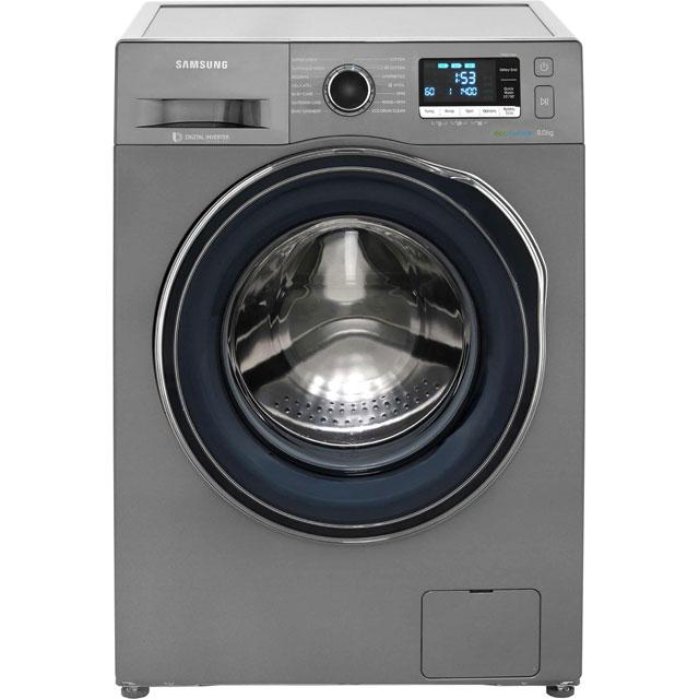 samsung ecobubble wf90f5e5u4x washing machine graphite graphite. Black Bedroom Furniture Sets. Home Design Ideas