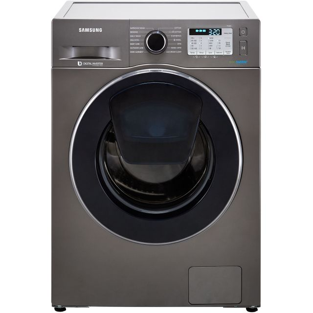 Samsung AddWash™ ecobubble™ WW80K5413UX 8Kg Washing Machine with 1400 rpm - Graphite - A+++ Rated - WW80K5413UX_GH - 1