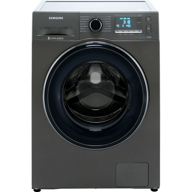 Samsung ecobubble™ WW90J5456FC 9Kg Washing Machine with 1400 rpm - Graphite - A+++ Rated - WW90J5456FC_GH - 1