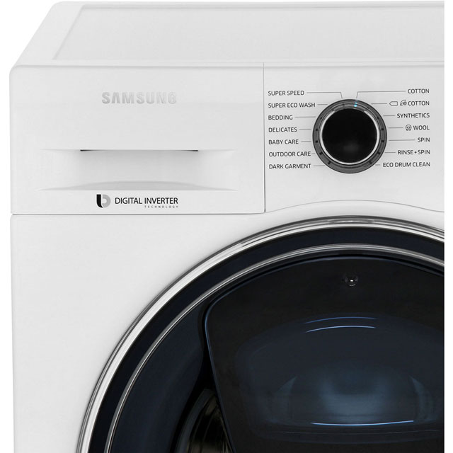 samsung ww90k6610qx addwash ecobubble addwash a 9kg washing machine 8806088273020 ebay. Black Bedroom Furniture Sets. Home Design Ideas