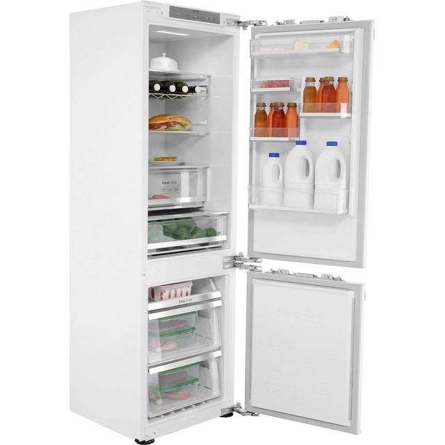 Samsung Integrated 70/30 Frost Free Fridge Freezer with Fixed Door Fixing Kit - White - A++ Rated