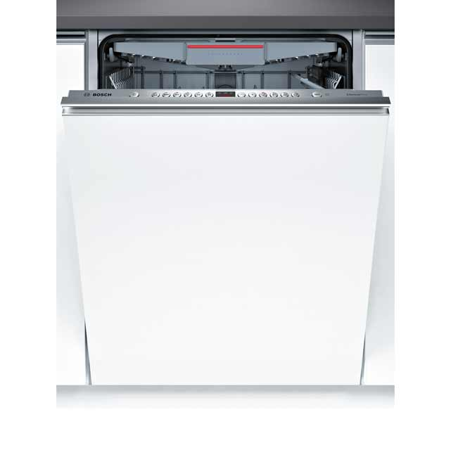 Bosch Serie 4 Extra Height SBE46MX00G Fully Integrated Standard Dishwasher - Stainless Steel Control Panel - A++ Rated