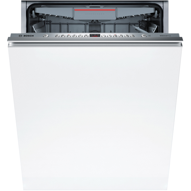 Bosch Serie 4 SBE46MX01G Fully Integrated Standard Dishwasher - Stainless Steel Control Panel with Sliding Door Fixing Kit - A++ Rated - SBE46MX01G_SS - 1