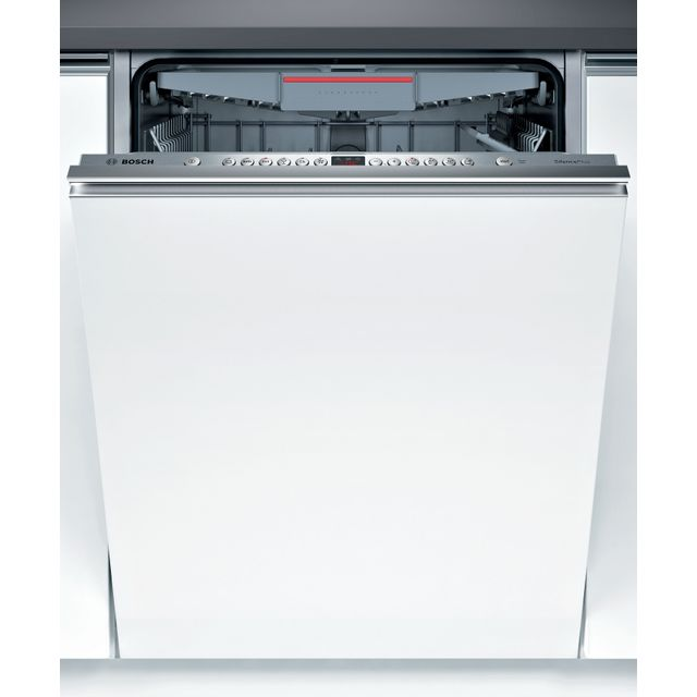Bosch Serie 4 SBE46NX01G Fully Integrated Standard Dishwasher - Stainless Steel - SBE46NX01G_SS - 1