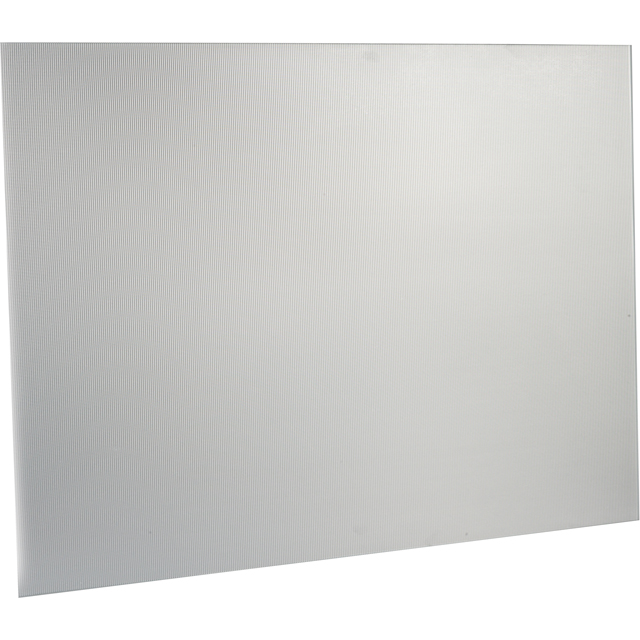Image of Non-Branded SBK110 110 cm Metal Splashback - Stainless Steel
