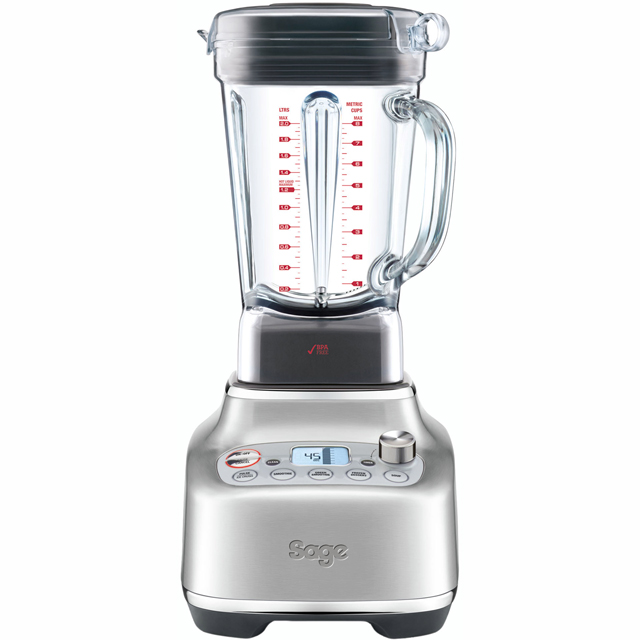 Sage The Super Q SBL920BSS 2 Litre Blender with 3 Accessories - Brushed Stainless Steel - SBL920BSS_BSS - 1