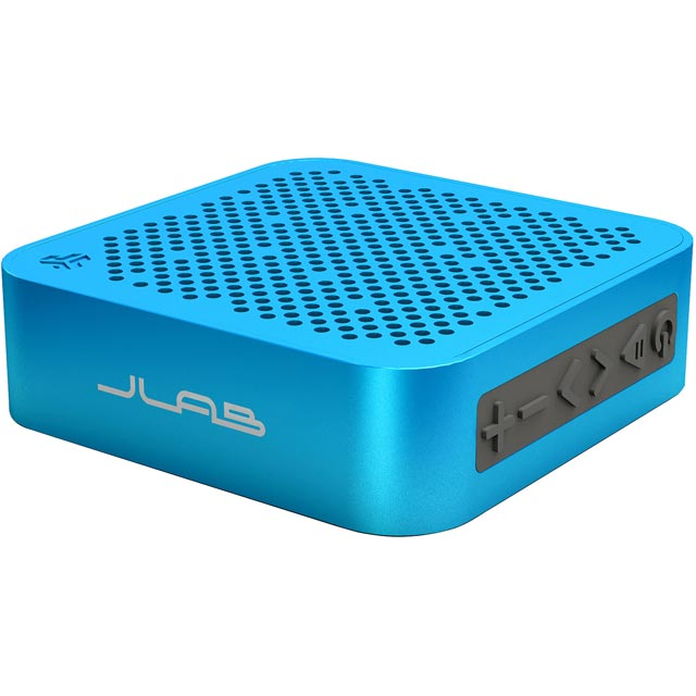 JLAB Crasher Mini Splashproof Portable Wireless Speaker - Blue - SBMINIRBLU4 - 1