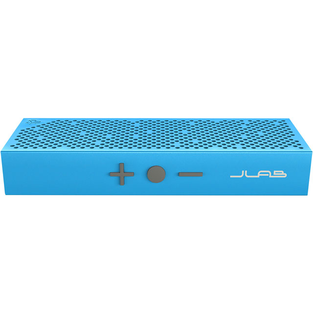 JLAB Crasher Slim Portable Wireless Speaker - Blue - SBSLIMRBLU4 - 1