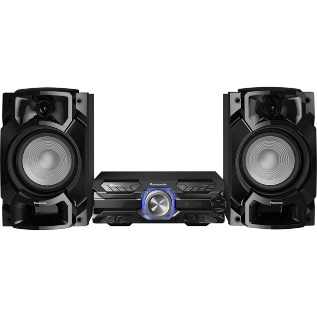 Panasonic SC-AKX520E-K 650 Watt High Power Audio System with Bluetooth - Black - SC-AKX520E-K - 1