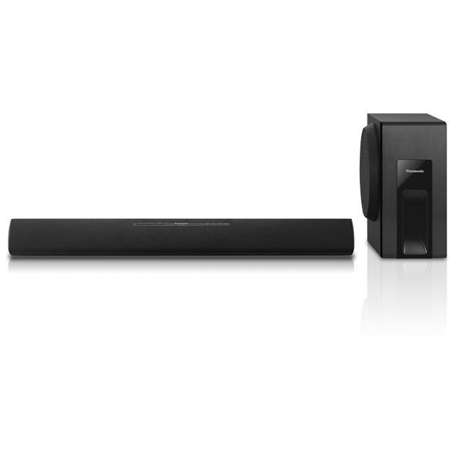 Panasonic SC-HTB18EB-K Bluetooth Soundbar with Wired Subwoofer - Black