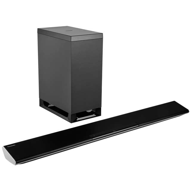 Panasonic SC-HTB485EBK Bluetooth Soundbar with Wireless Subwoofer - Black