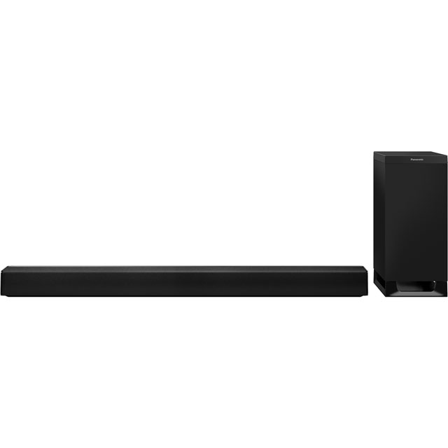 Panasonic SC-HTB700EBK Bluetooth Soundbar with Wireless Subwoofer - Black - SC-HTB700EBK - 1