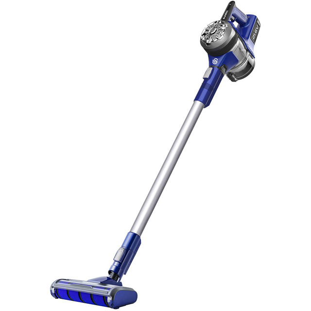 Eureka Swan PowerPlush Turbo SC15822N Cordless Vacuum Cleaner with up to 22 Minutes Run Time
