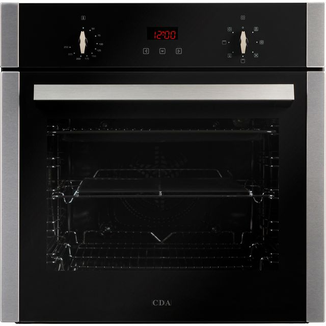 CDA SC223SS Built In Electric Single Oven - Stainless Steel - SC223SS_SS - 1