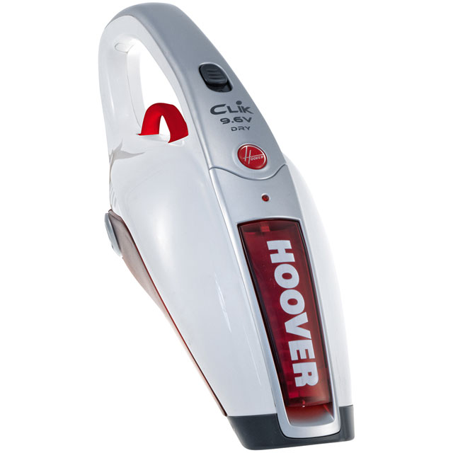 Hoover SDA Clik 9.6v SC96DWR4 Handheld Vacuum Cleaner in Red / White