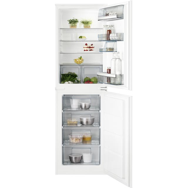 Image of AEG SCK6181LLS Integrated Fridge Freezer in White