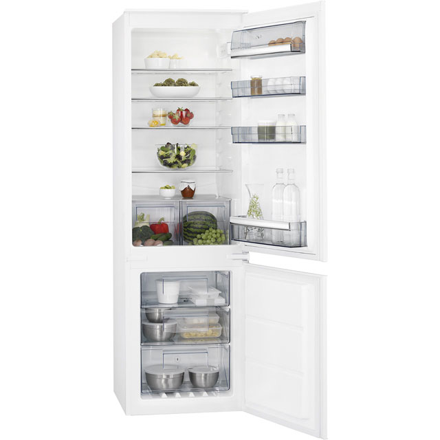AEG SCK6181VNS Integrated 70/30 Frost Free Fridge Freezer with Sliding Door Fixing Kit - White - A+ Rated
