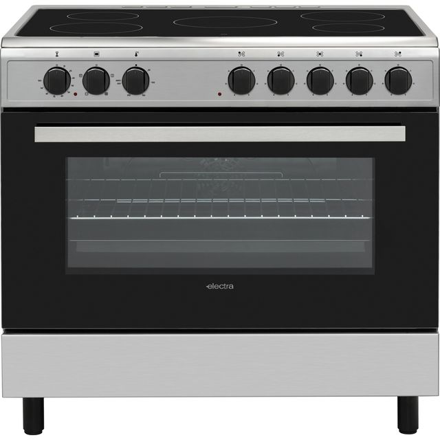 Electra SCR90SS 90cm Electric Range Cooker - Stainless Steel - SCR90SS_SS - 1