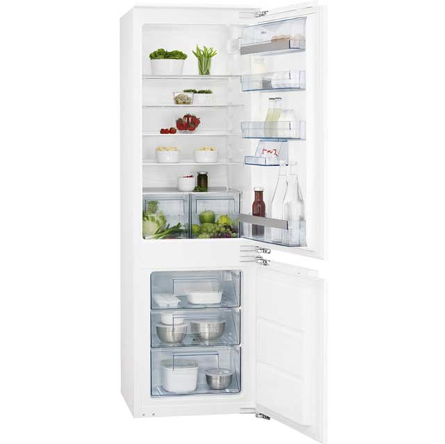 AEG Santo SCS51813F1 Integrated 70/30 Fridge Freezer - White