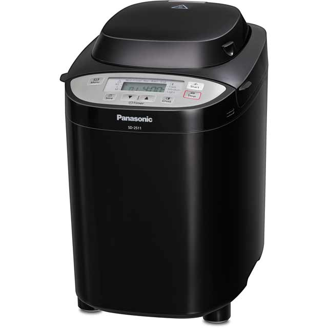 Panasonic SD-2511KXC Bread Maker with 33 programmes - Black - SD-2511KXC_BK - 1