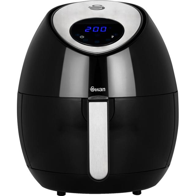 Swan Digital Air Fryer in Black