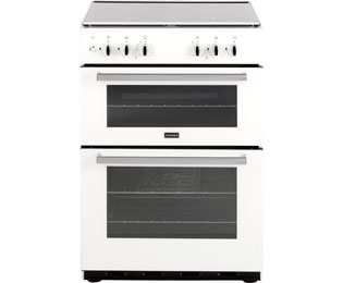 Stoves SDF60DO 60cm Dual Fuel Cooker - White - A/A Rated - SDF60DO_WH - 1