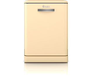 Product image for Swan Retro SDW7040CN Standard Dishwasher - Cream