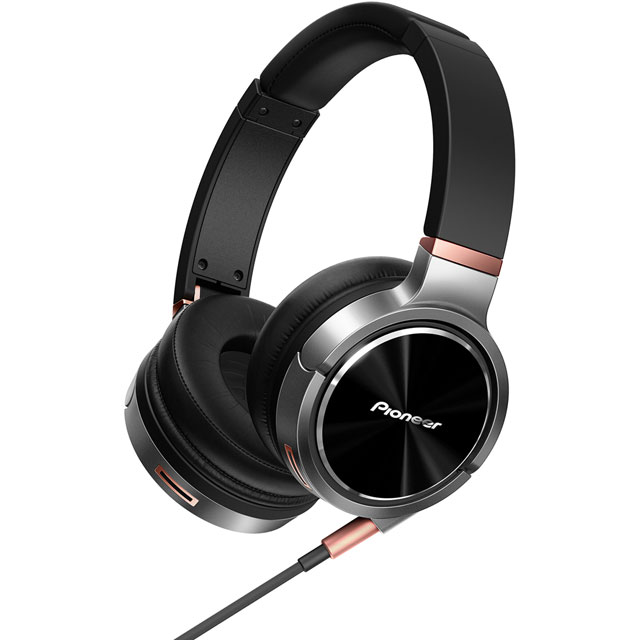 Pioneer SE-MHR5 On-Ear High-res Audio Headphones - Black