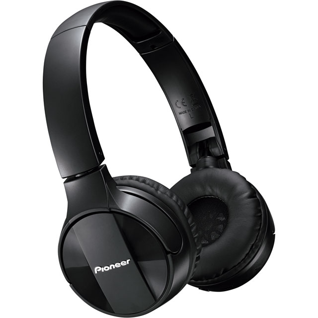 Pioneer SE-MJ553BT-K On-Ear Wireless Headphones - Black