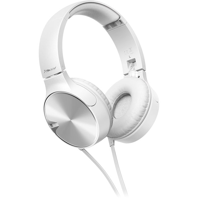 Pioneer SE-MJ722T-W Headphones in White