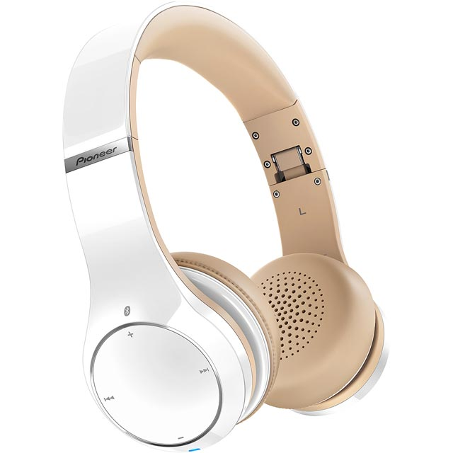 Pioneer SE-MJ771BT-W Headphones in White