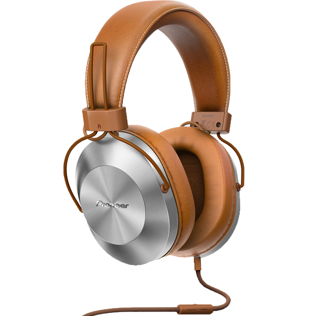 Pioneer SE-MS5T-T Over-Ear High-res Audio Headphones - Tan