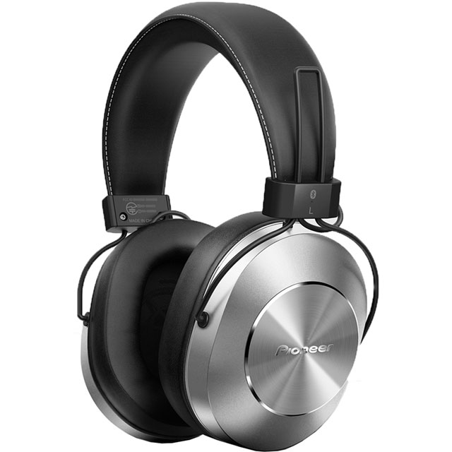 Pioneer SE-MS7BT-S Over-Ear Wireless Headphones - Silver