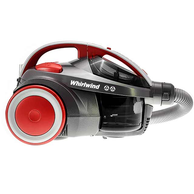 Hoover Whirlwind Pets SE71WR02 Cylinder Vacuum Cleaner in Red / Silver