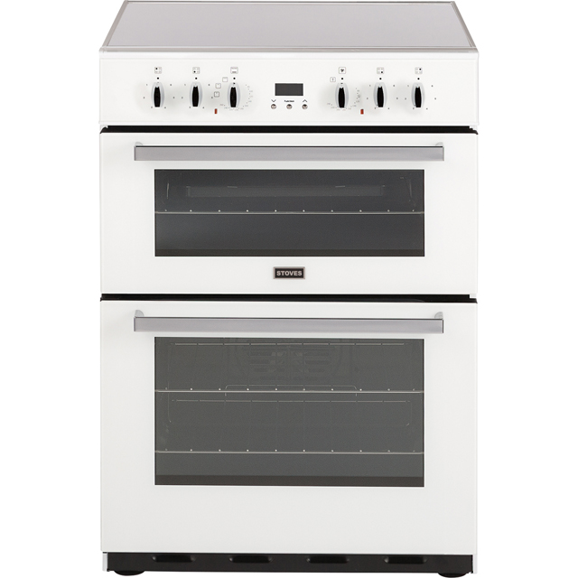 Stoves SEC60DOP Electric Cooker with Ceramic Hob - White - A/A Rated